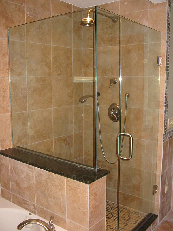 Shower Enclosures & Mirrors Gallery | Intermountain Glass Inc ...
