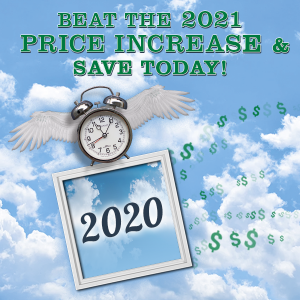 Beat the 2021 price increase